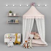 Палатка и декор для детской