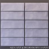 Keros Aqua Azul & Decorado Bella Azul