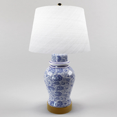 JONATHAN Y Ellis Ceramic Table Lamp