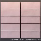 Keros Aqua Rosa & Decorado Bella Rosa
