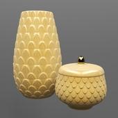 h & m vases