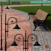 Paving granite crumb HR / street furniture 07