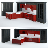 Lube Cucine Pantheon Royal 05 Kitchen Furniture