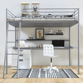 Bed IKEA SVERTA loft