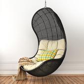 Pendant armchair