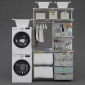 Washing and drying machine LG I Laundry