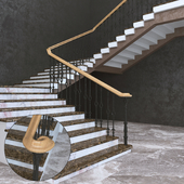 Stairs: classical, castings