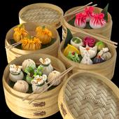 Dim Sum / Dum Sam / Chinese dumplings