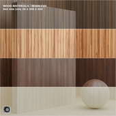 Material wood / veneer (seamless) - set 7