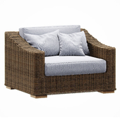 Restoration Hardware   PROVENCE CLASSIC LOUNGE CHAIR