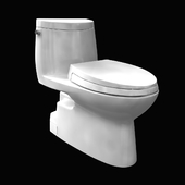 toto Carlyle II One-Piece Toilet 1.28 GPF Elongated Bowl