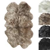 Natural Sheepskin Rug RH
