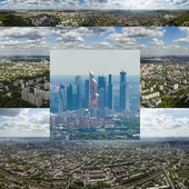 Panorama of Moscow