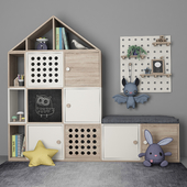 Furniture for children's room with decor 10