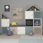 Furniture for children's room with decor 11