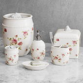 Rosalie Floral Bath Accessories by Piper & Wright