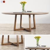 Concorde Round Dinning Table Poliform