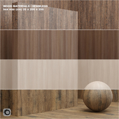 Material wood / veneer (seamless) - set 9