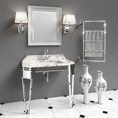 Set of furniture and sanitary ware for the bathroom Gaia Mobili # 6