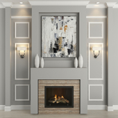 Fireplace and decor 18
