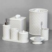 Scala Ivory Porcelain Bath Accessories