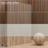 Material wood / veneer (seamless) - set 11