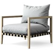 HARBOR / Pier Teak Armchair