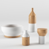 DoubleFacette Postfossil Tableware ceramic