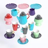 Чайный набор Pop Sagaform Set