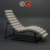 Шезлонг Roll&Rest Bolster Chaise