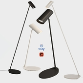Desk and floor lamps, model HESTER, from the company LUCIDE, Belgium.