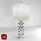 Clear Disc Table Lamp