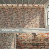 Brick wall (historical brick) 8
