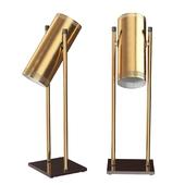 Trombone Desk Lamp by Jo Hammerborg