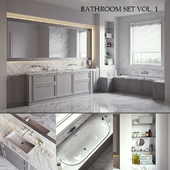 L'ORIGINE Aeterna Bathroom set (vray GGX, corona PBR)