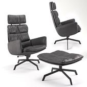 KFF Arva Lounge armchair