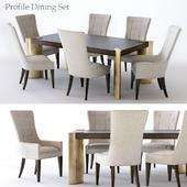 Bernhardt Profile Dining Set 1