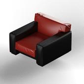 Armchair leather