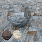 La Foresta di Gres - Black, Blue and Sky Gres wood-effect tiles - by Ceramica Rondine, Italy