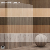 Material wood / veneer (seamless) - set 13