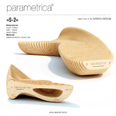"The parametric bench ""Parametrica Bench S-2"""