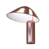 Damo Table Copper Lamp by Seed Design