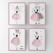 Постеры для детской девочки-феи