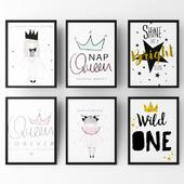 Постеры для детской девочки