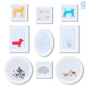 Серия детских постеров для оформления детской комнаты.