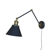 LNC swing arm wall lamp plug-in sconces