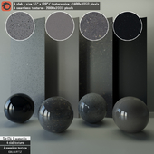 Quartz Slab & Seamless texture Set 124
