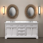 23800879 Double washbasin (3 colors)