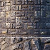 Natural facing stone (material)