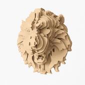 plywood lion
